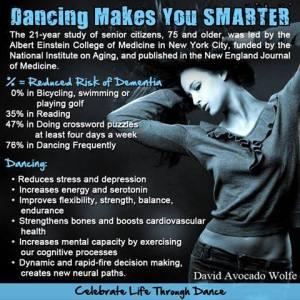 Dancing Makes You Smarter